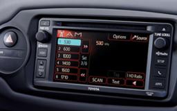 Toyota Yaris display