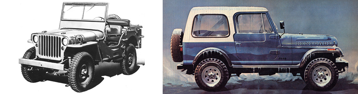 The History of the Jeep Brand