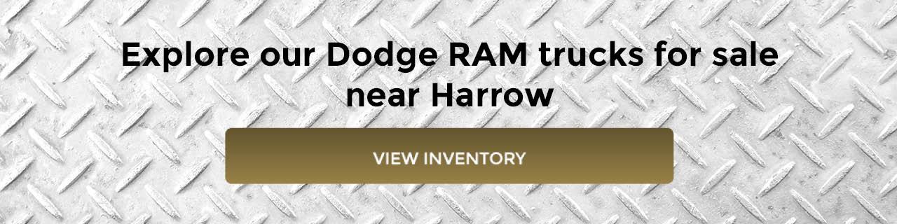 Dodge RAM Trucks for Sale near Harrow