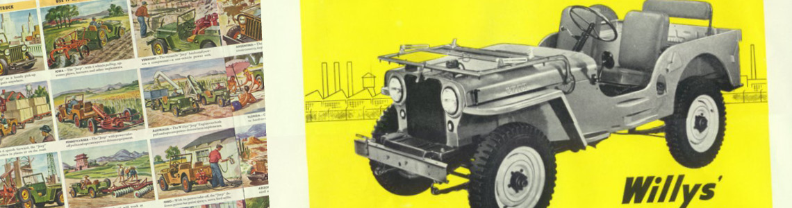 How the Jeep came into civilian use post war