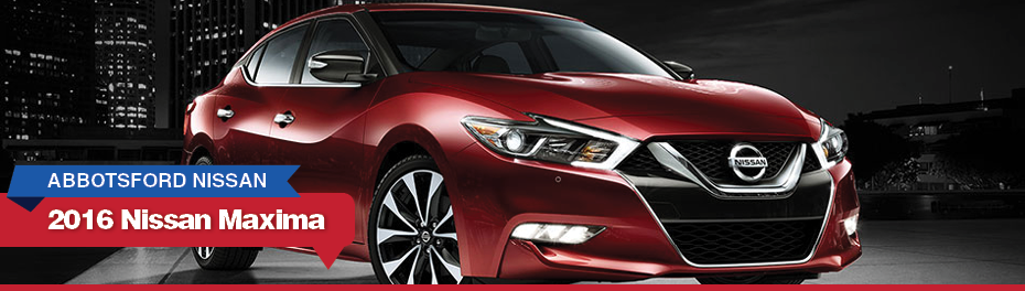 Red 2016 Nissan Maxima in Abbotsford, BC