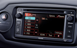 Toyota Yaris display
