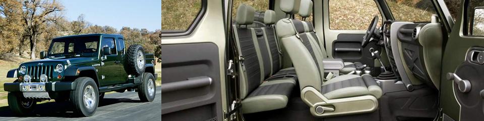 Jeep Wrangler Pickup Rumours