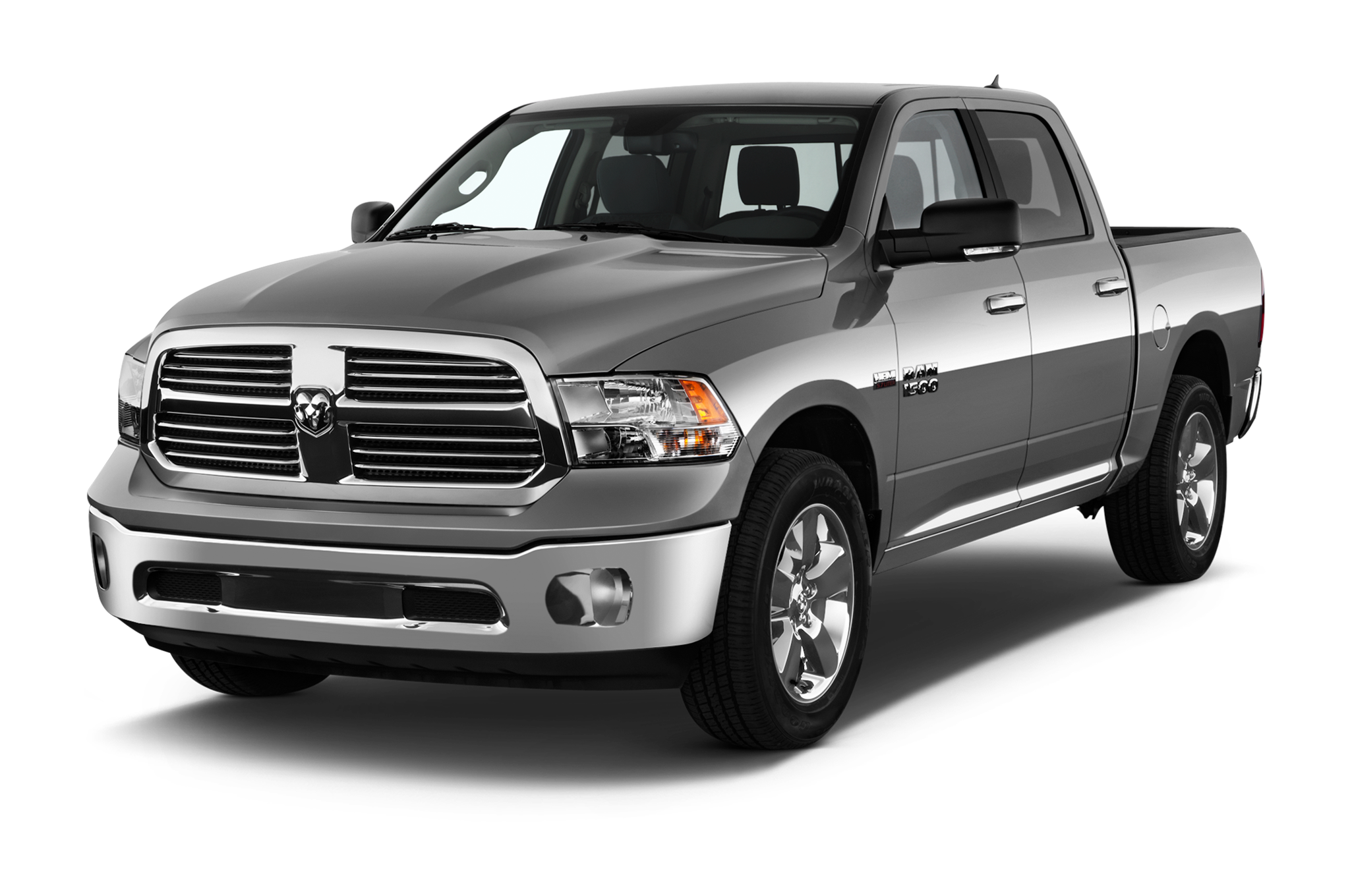 A used dark gray Ram 1500