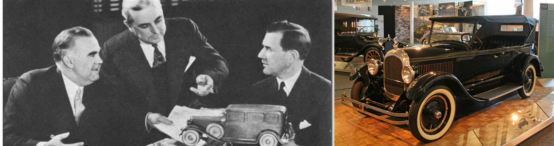 How the Three Musketeers moved from Studebaker to become the core of Chrysler Corporation