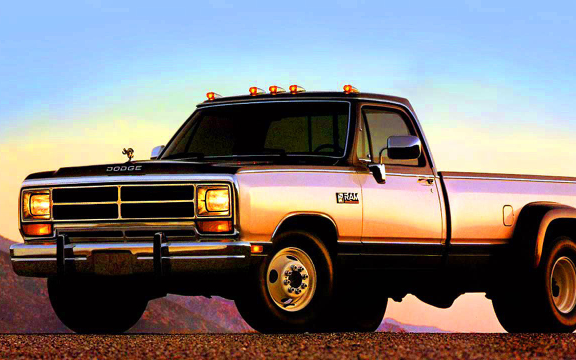 1989 RAM D350