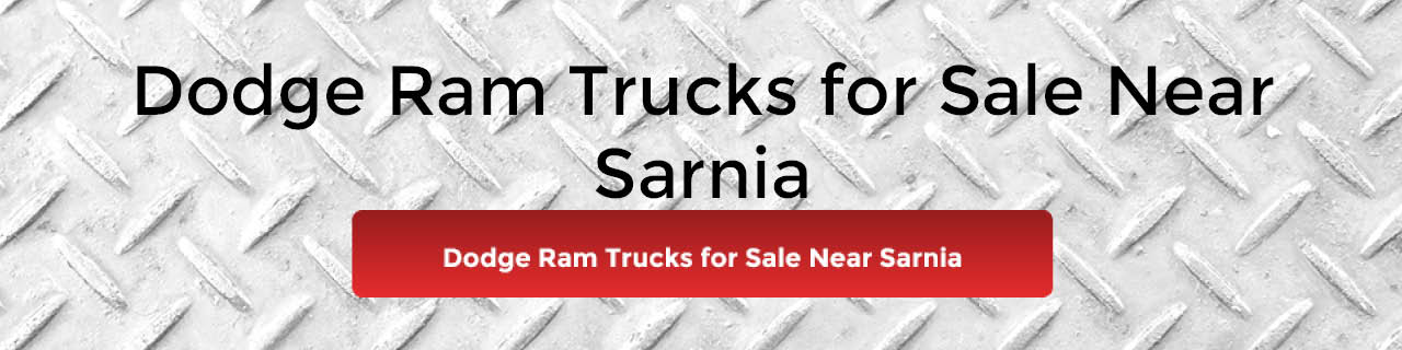 Used Dodge Ram 1500 for Sale Sarnia