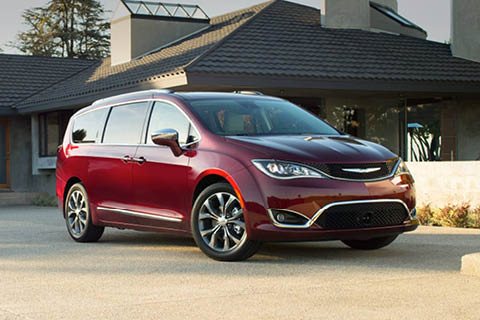 Downsview Chrysler - Red Chrysler Pacifica