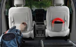 Dodge Grand Caravan storage