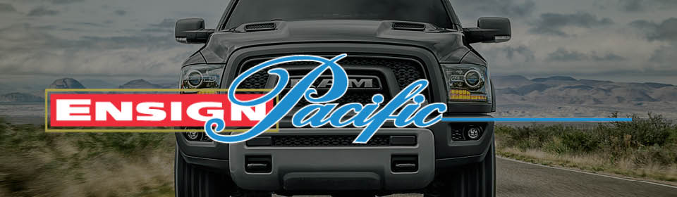 Ensign Pacific Chrysler logo