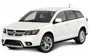 A white Dodge Journey