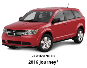 Red 2016 Dodge Journey