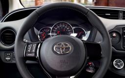 Yaris steering wheel