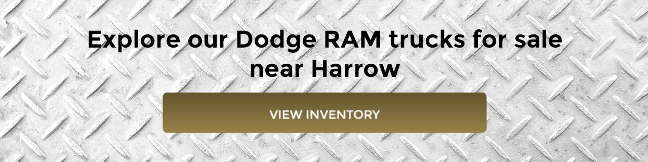 Dodge RAM Trucks for Sale near Harrow