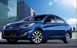 Hyundai Accent at our Car Dealership near Burnaby, BC