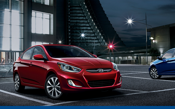 Hyundai Accent at your local New Westminster Car Dealerships