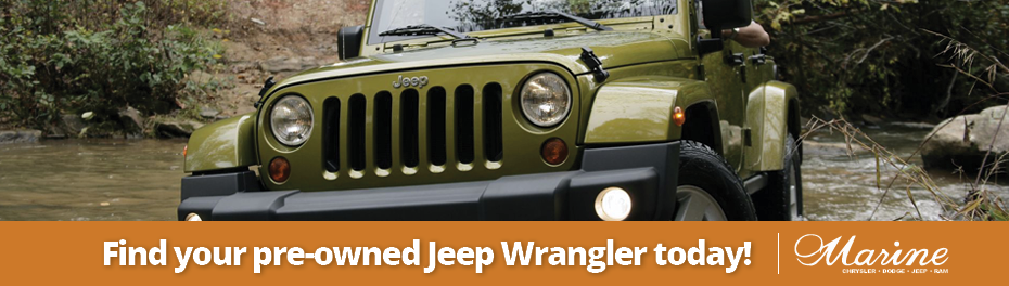 Green Used Jeep Wrangler Vancouver