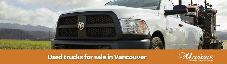 Used Trucks for Sale in Vancouver