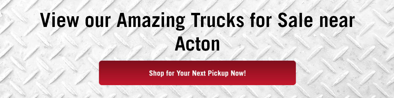 Trucks For Sale Acton